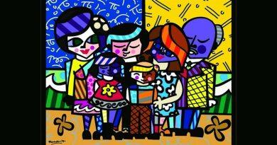 RibeirãoShopping recebe mostra inédita do artista plástico Romero Britto