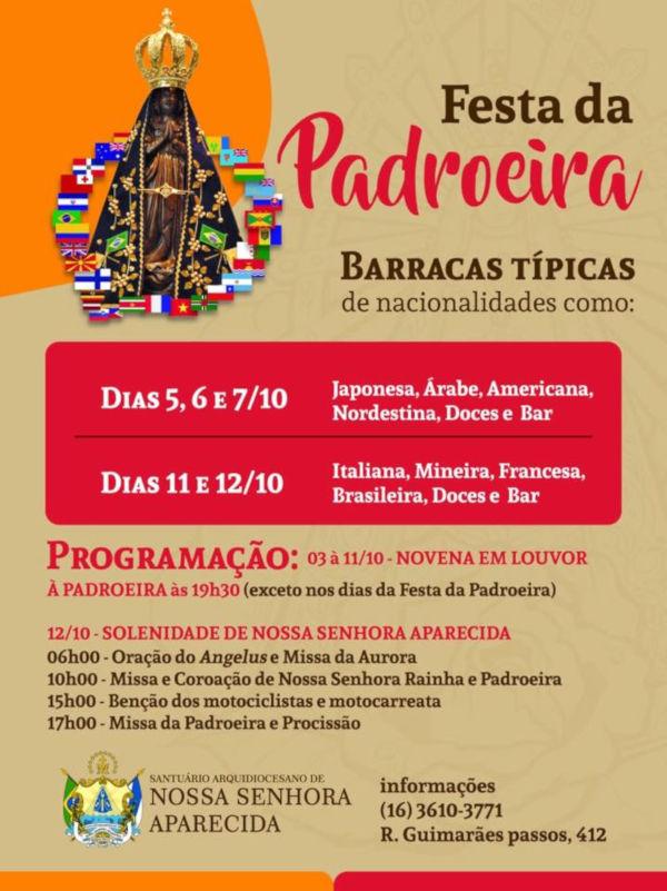 Santuário Nossa Senhora Aparecida realiza Festa Social da Padroeira