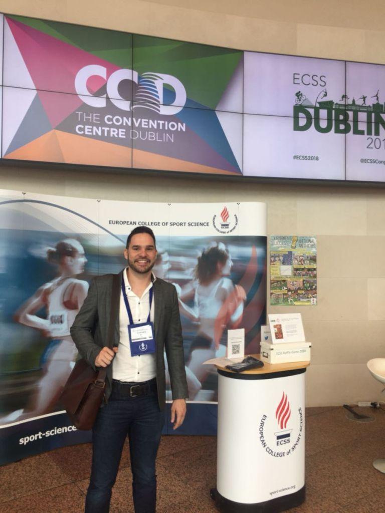 Professor do Centro Universitário Estácio Ribeirão Preto participa de congresso em Dublin