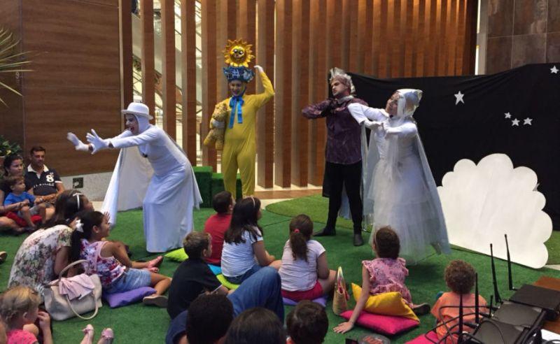 Teatro infantil é o destaque do fim de semana no Shopping Santa Úrsula