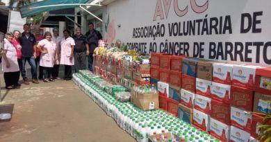 Projeto de cravinhenses auxilia Hospital do Câncer de Barretos