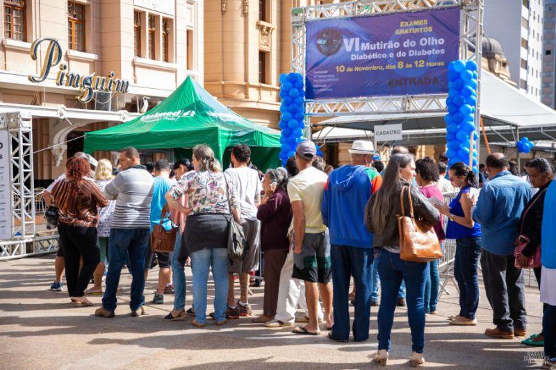 Mutirão do olho diabético leva serviço gratuito para comunidade de Ribeirão Preto
