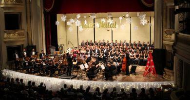 Sinfônica de Ribeirão Preto realiza Concerto Natal Luzno Theatro Pedro II