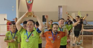 Liga Ituana é campeã do 1º Campeonato Brasileiro de Futsal Down