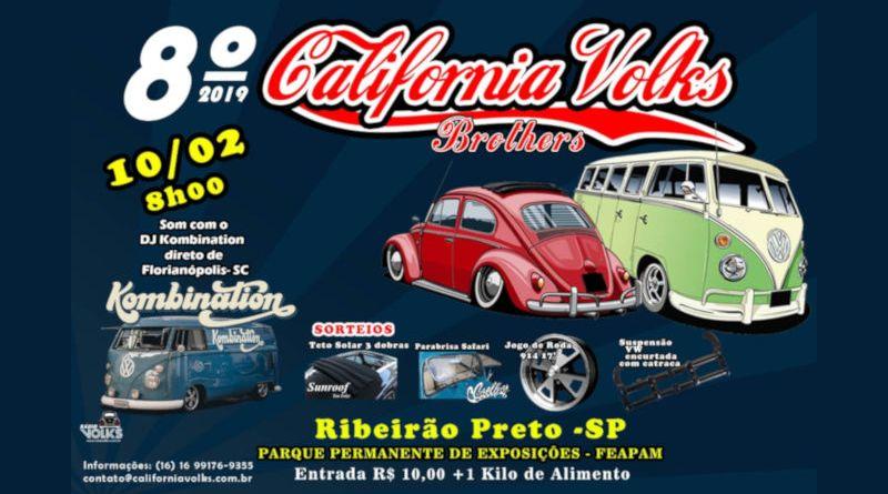 California Volks Brothers chega à oitava edição em Ribeirão Preto