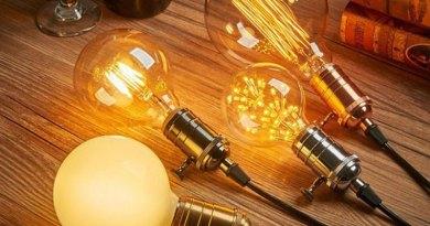 Lâmpada de filamento para uma decoração vintage e intimista