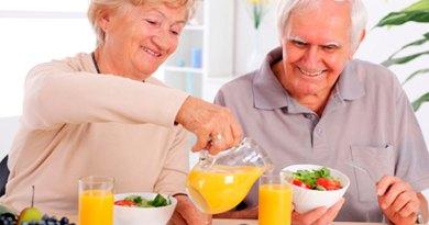 Alimentação saudável na Melhor Idade