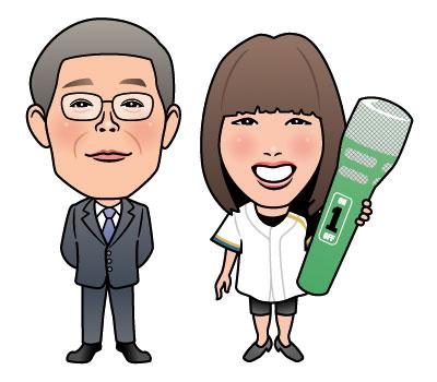 似顔絵:北海道医師協同組合