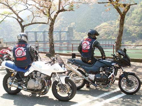 写真:バイクチーム