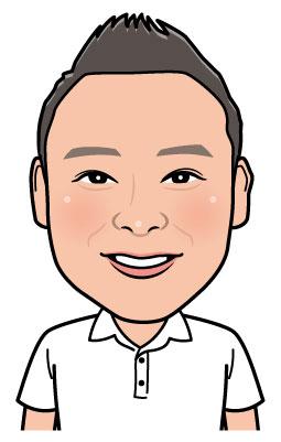 整体師さん院長先生の似顔絵