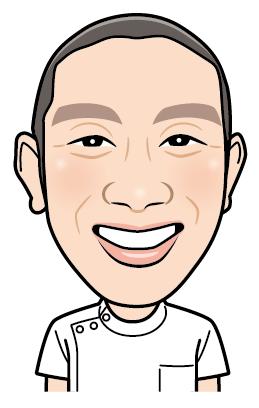 杉山先生の似顔絵