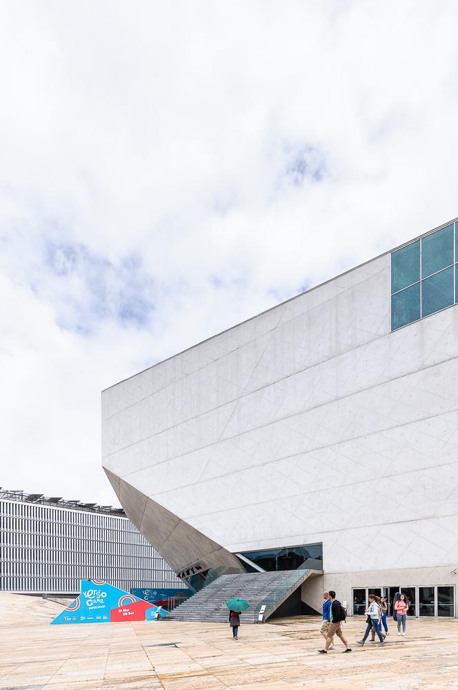 photographe d'architecture ©INTERVALphoto : Rem Koolhaas, Casa da Musica, Porto.