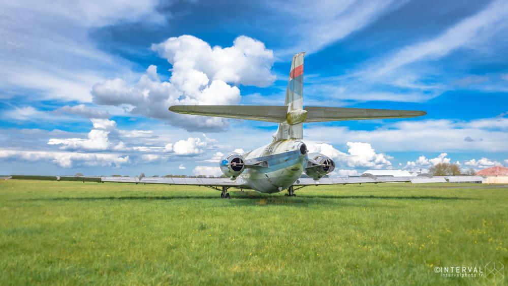 caravelle, Air inter, aéroport de St Jacques de la Lande ©INTERVALphoto
