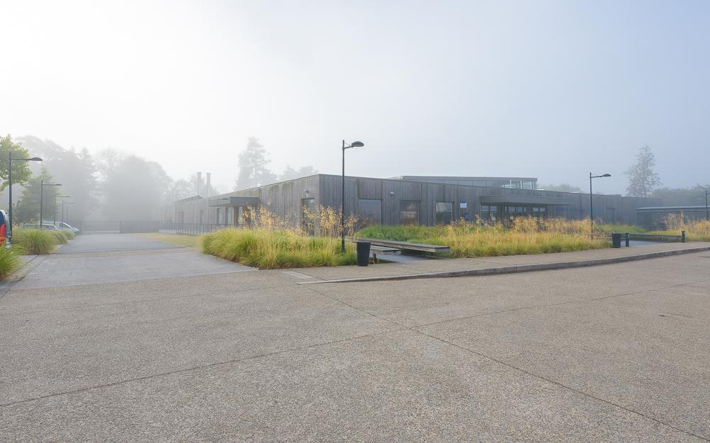 Centre aquatique Hennebont, Jean-Louis Berthomieu architecte ©INTERVALphoto