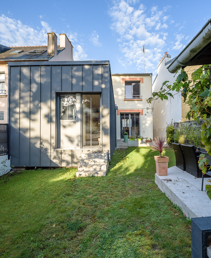 photographe d'architecture ©INTERVAL photo : LAB, architectes, maison individuelle, Brest
