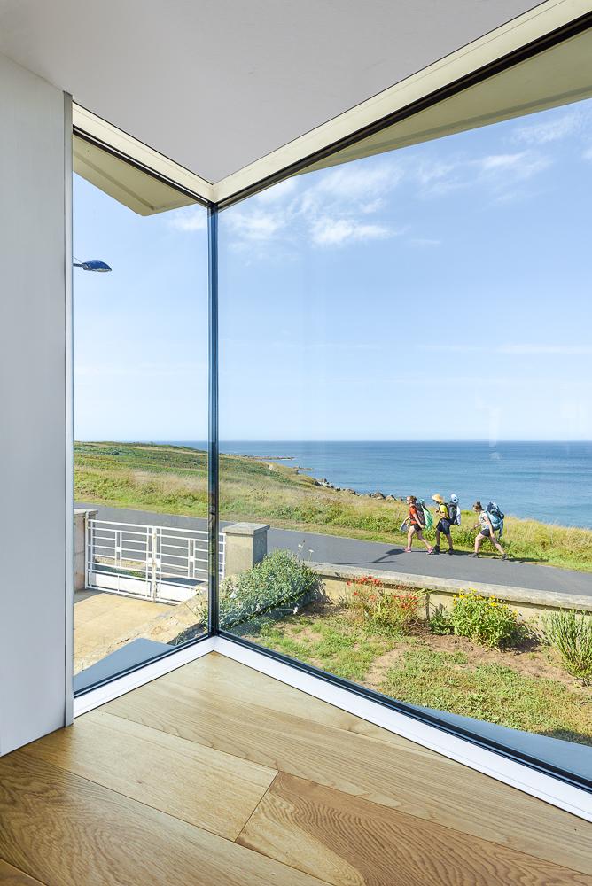 photographe d'architecture ©INTERVALphoto : LAB, architectes, maison individuelle, Lampaul-Plouarzel, 29
