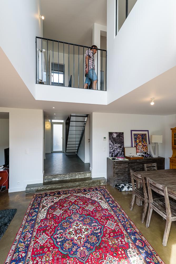 photographe d'architecture ©INTERVALphoto : M. Tanguy, maison individuelle, Rennes,