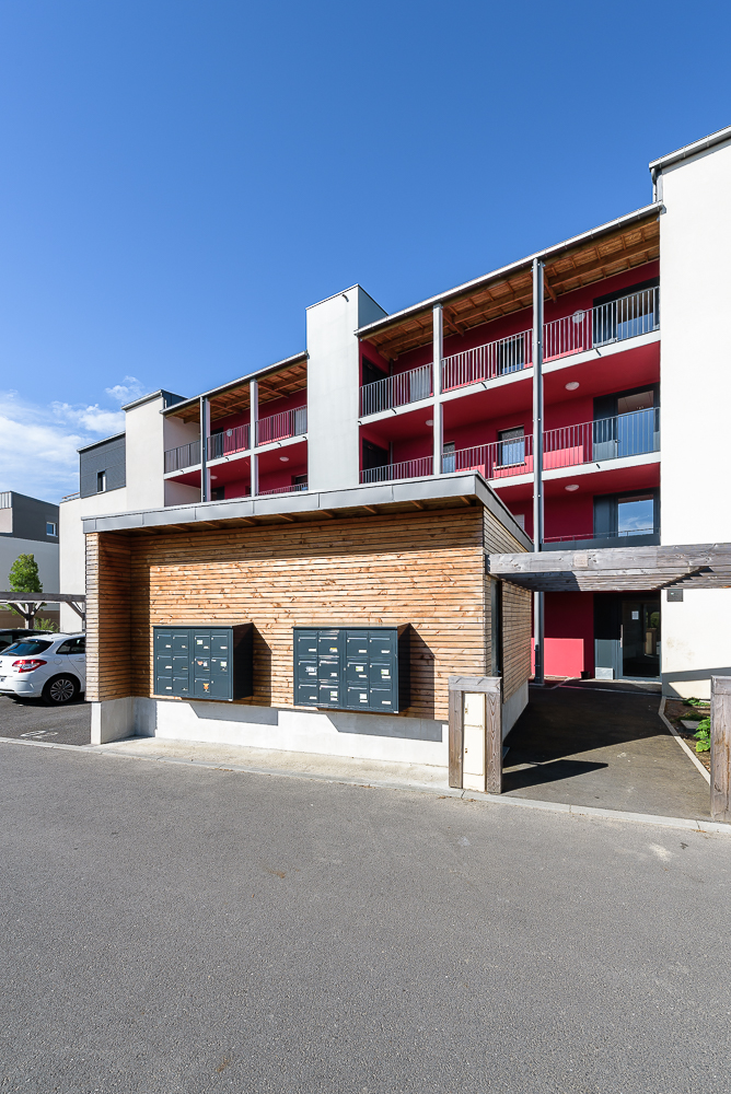 photographe d'architecture ©INTERVALphoto : Paul Bouet Architecte, logements collectifs et maisons groupées, Le Rheu, 35