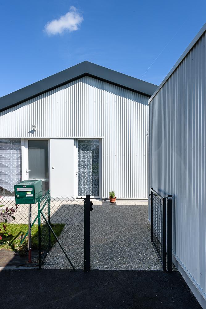 Jaouen & Raimbault Architectes, logements sociaux, Dompierre du Chemin, 35.