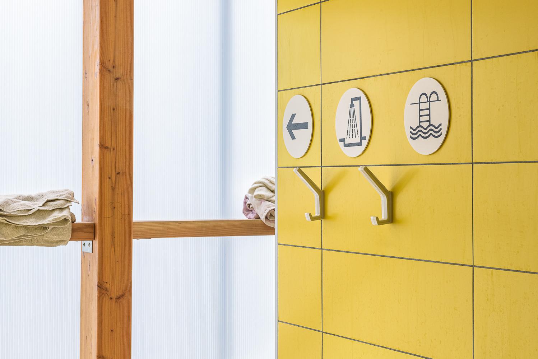 photographe d'architecture ©INTERVALphoto : LAB architectes , piscine de Tréguier (22)