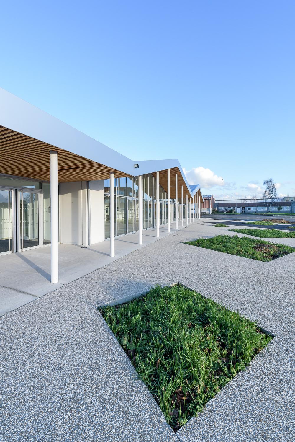 Alt 127 architectes, ESAT d'Apigné, cuisine centrale, St Jacques de la Lande (35)