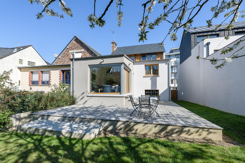 Protégé: Download : Briand & Renault Architectes, réhabilitation, surélévation maison individuelle, Rennes(35)