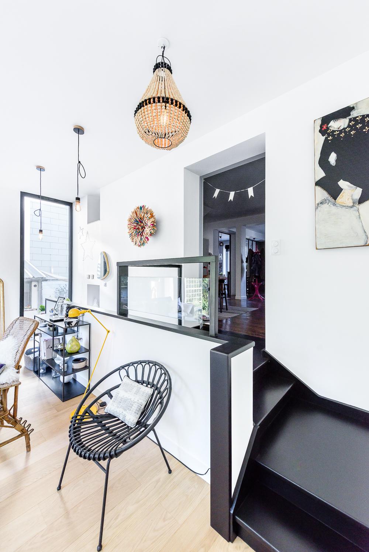photographe d'architecture ©INTERVALphoto : Briand & Renault Architectes, extension, maison individuelle T, Rennes(35)