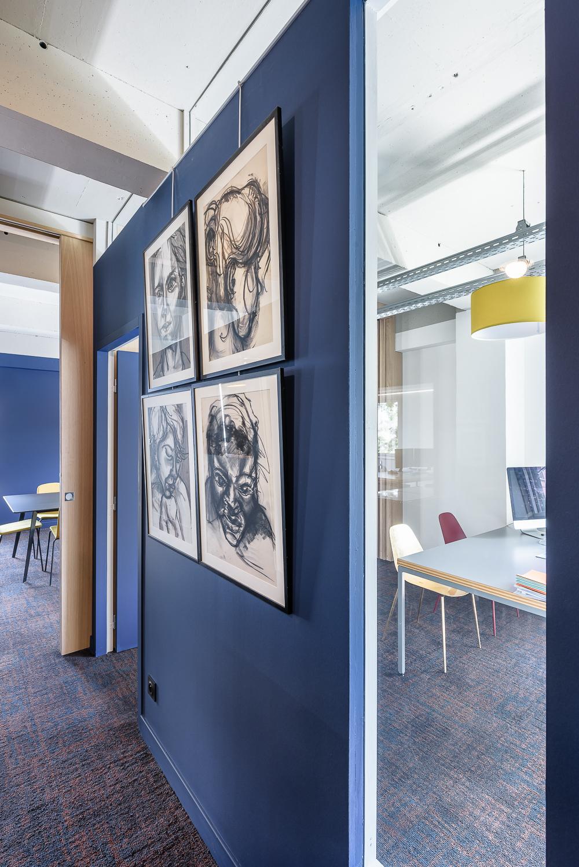 photographe d'architecture ©INTERVALphoto : Bodenez et Le Gal La Salle architectes, aménagements plateau de bureaux, Rennes(35)