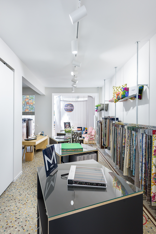 photographe d'architecture ©INTERVALphoto : LAB architectes, L'Atelier 55, boutique et atelier couture d'ameublement, Brest 29