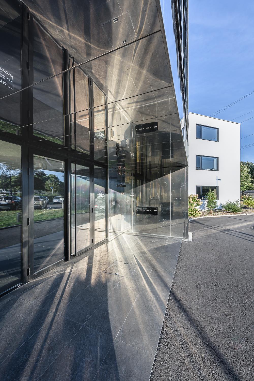 photographe d'architecture ©INTERVALphoto : PAUMIER Architectes, réhabilitation bureaux, Rennes, 35