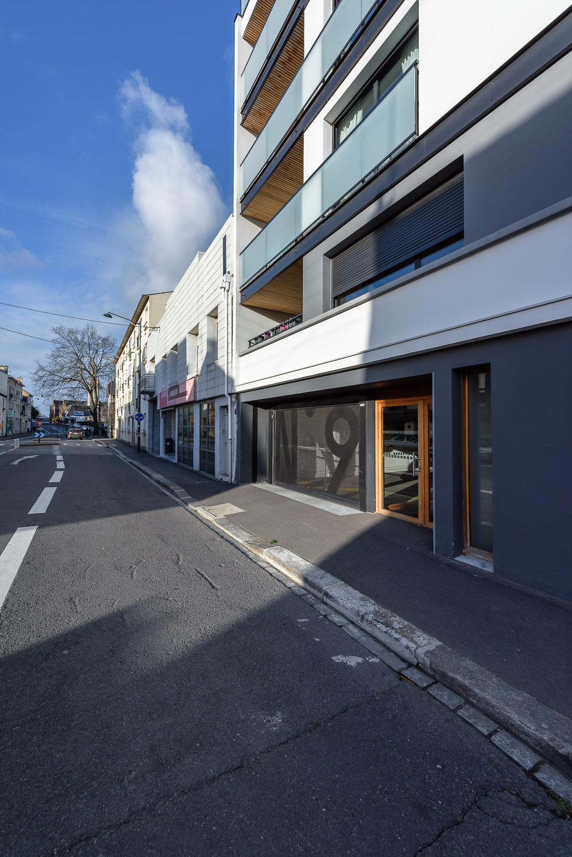 photographe d'architecture ©INTERVALphoto : O+P architectes, Peroba, 9 de Vern, logements, Rennes 35