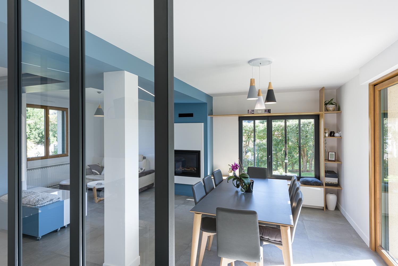 SAAC architecte, aménagements intérieurs, rénovation maison individuelle, Domloup.