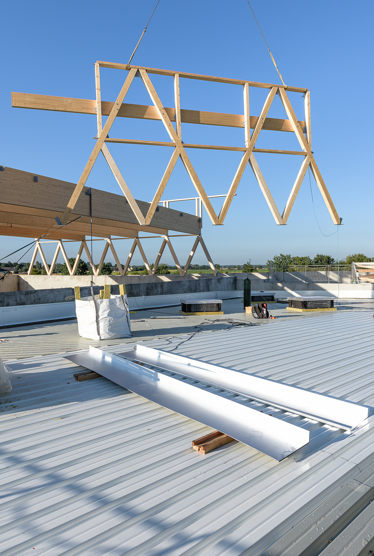 Lycée Polyvalent, Région Pays de Loire, AIA architecte, Chantier 10+11/22