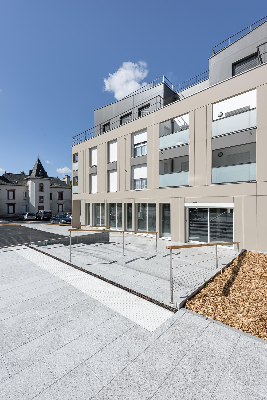 PAA architecture, Logements, Le Clos Orrière, Vern sur Seiche (35)