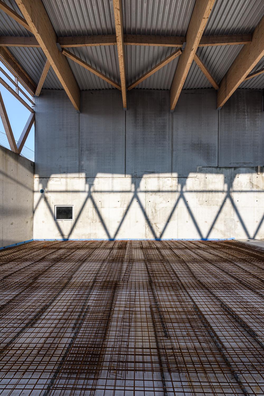 photographe d'architecture ©INTERVALphoto : Lycée Polyvalent, Région Pays de Loire, AIA architecte, Chantier, Nort sur Erdre (44) 12.13.14/22