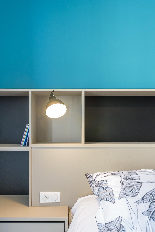 photographe d'architecture ©INTERVALphoto : ROCHER T. architecte, appartement, Rennes (35)