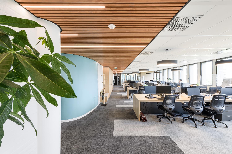 O+P, aménagements plateau de bureaux, Le Mabilay, Rennes (35)