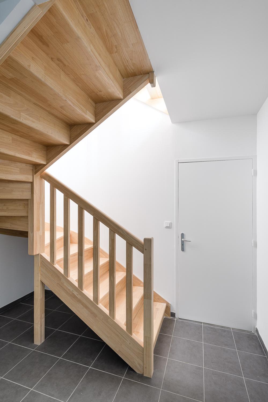 photographe d'architecture ©INTERVALphoto : LAB architectes, Logements sociaux, Plougastel Daoulas (29)