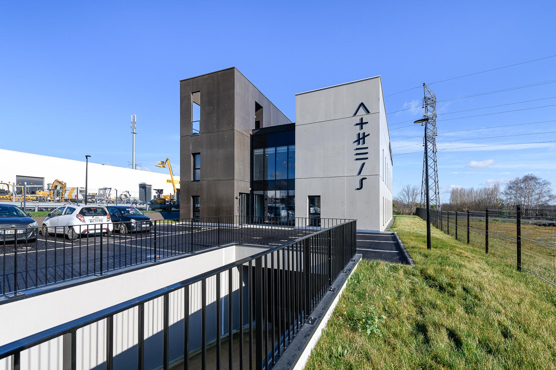 Agence L2A Architectes, immeuble de bureaux, Athéis, St Grégoire (35)