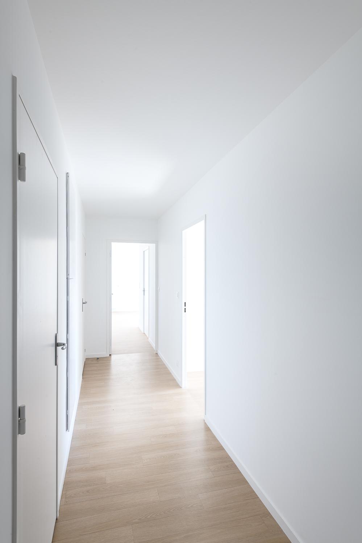 photographe d'architecture @INTERVALphoto : Atelier L2, logements, M.A.M, ZAC de la Trémelière, Le Rheu (35)
