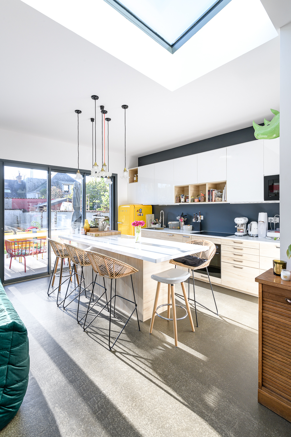 photographe d'architecture @INTERVALphoto : Briand Renault Architectes, rénovation, extension maison individuelle, Rennes (35)