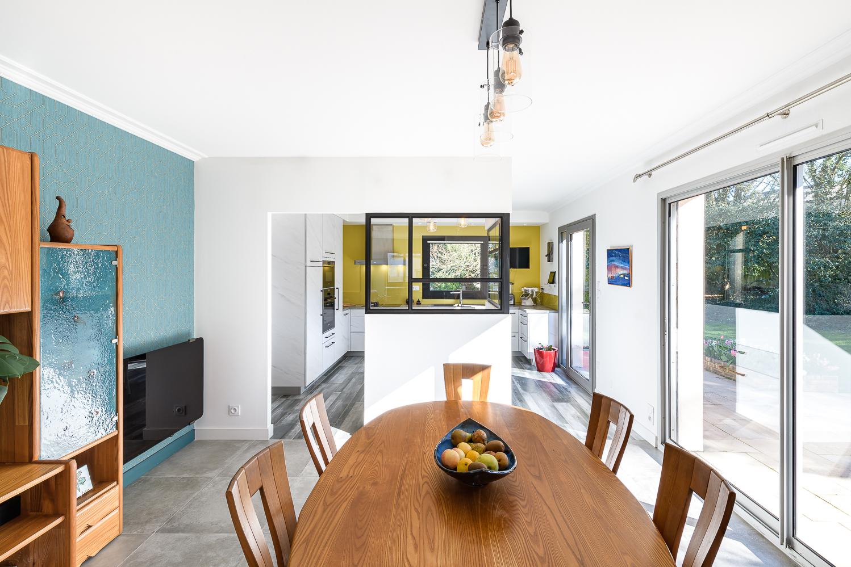 photographe d'architecture @INTERVALphoto : SAAC, Aurélie Claustres architecte, aménagements intérieurs, maison individuelle, Domloup (35)