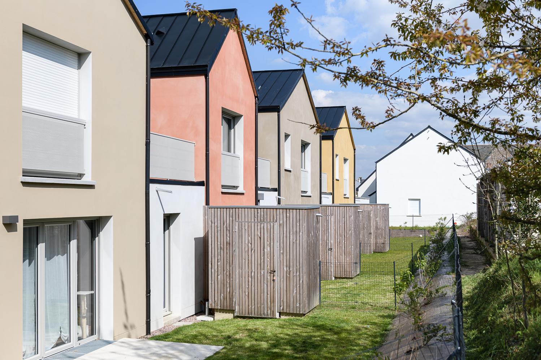Briand Renault Architectes, logements intermédiaires, Boisgervilly (35)