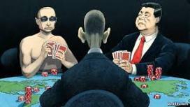 Obama, Putin & Jinping at the games nations play