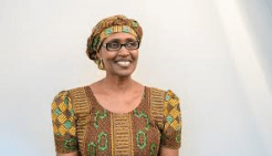 Oxfam's Winnie Byanyima,  a global voice for women