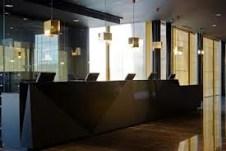 Hotel nh fiera Milan recepción