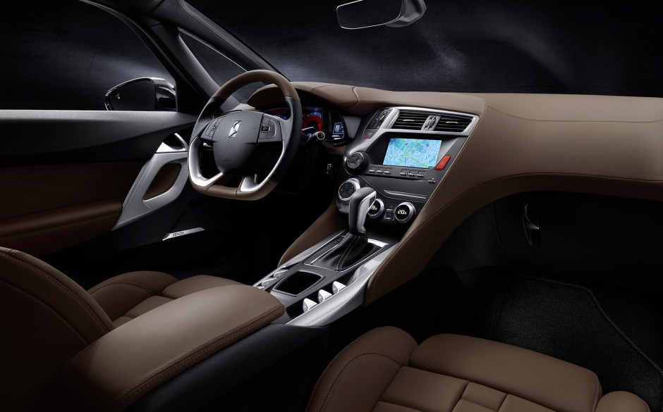 DS5 prestige interior