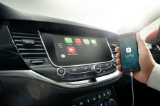 Phone integration: Apple CarPlay and Android Auto compatibility is available on selected Opel infotainment systems, such as R 4.0 IntelliLink and Navi 900 IntelliLink (pictured here in the Astra).