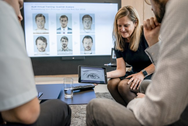 Audi developed the training game with experts from the games industry