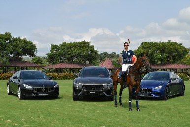 Malcolm Borwick & Maserati MY19 Range @ 47 International Polo Tournament in Sotogrande